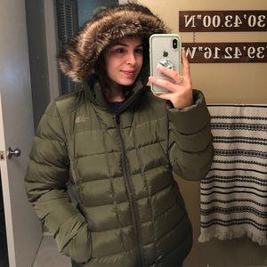 North Face Gotham Parka Fur Puffer Jacket 550
